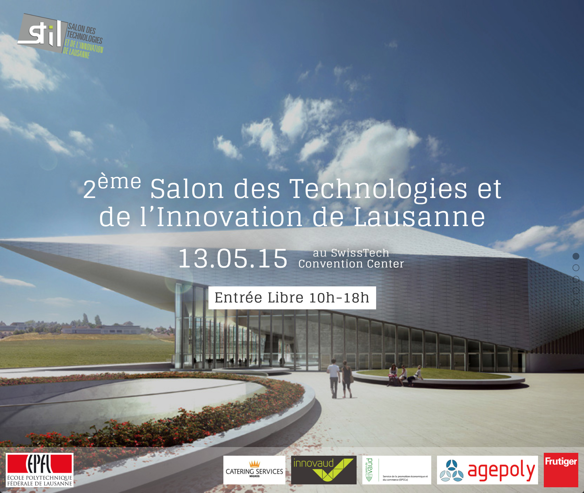 salon des technologies et de l innovation de lausanne